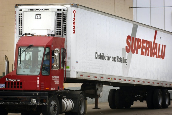 Eden Prairie-based retailer Supervalu Inc. is working with an adviser to consider options including a potential sale, Bloomberg reported.