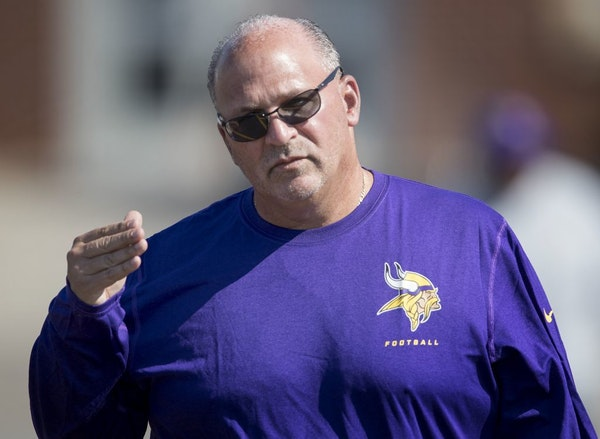 Tony Sparano, a two-time NFL head coach who had been the Vikings offensive line coach since 2016, died Sunday morning at the age of 56, the team said.