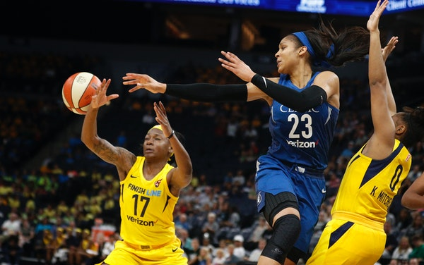 Maya Moore (23) and the Lynx play host to the New York Liberty on Tuesday night at Target Center in their last game before hosting the WNBA All-Star G