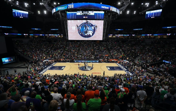 An announced 15,922 fans attended the WNBA All-Star Game on Saturday at Target Center, the league's biggest crowd for the event in 11 years.