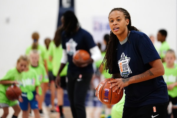 """Lynx player rep and All-Star Seimone Augustus on improving WNBA salaries: """"We need to address the wage gap in total revenue,"""" she said. """"And we will g"""