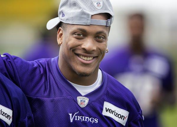 Minnesota Vikings rookie cornerback Mike Hughes. CARLOS GONZALEZ • cgonzalez@startribune.com