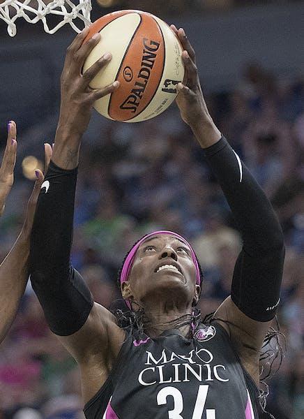 Lynx center Sylvia Fowles is approaching a WNBA rebounding record. rebounds