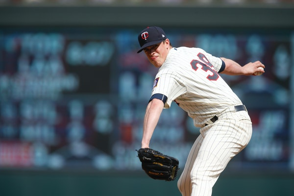 Twins reliever Trevor Hildenberger has finished the past five games he has appeared in, going 1-1 with three saves.
