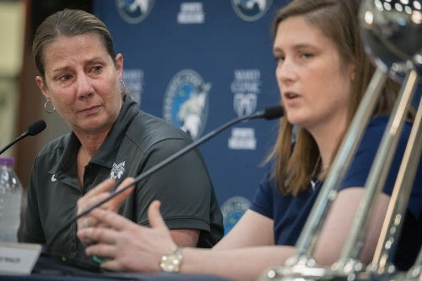 Whalen to be honored after Lynx home game Sunday