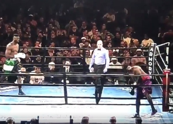 One second and done: Boxer DQ'd after walking out of Armory ring