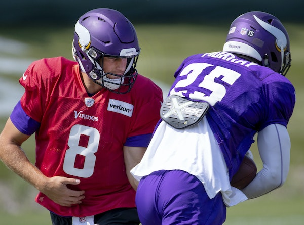 Quarterback Kirk Cousins could have close to a full complement of starters at his disposal when the Vikings play the Seahawks on Friday at U.S. Bank S