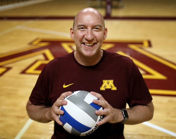 Under coach Hugh McCutcheon, the Gophers volleyball team enters the season as the nation's No. 4 team. The Final Four this year is at Target Center.