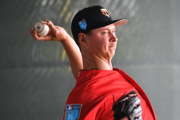 Stephen Gonsalves will make his major league debut on Monday. He was the Twins' Minor League Pitcher of the Year in 2016, and has ranked on the team�