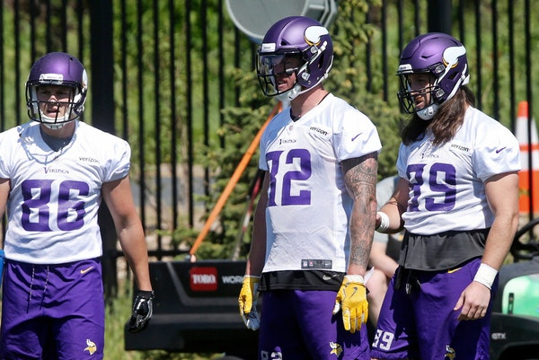 An updated 53-man roster projection for the Vikings
