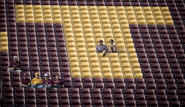There were thousands of empty seats at the 2017 season opener, and Gophers football fans will see more of those Thursday.