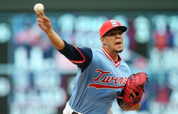Twins starter Jose Berrios felt ill Sunday, but did what he could with what he had before leaving the game down 3-1 to Oakland after five innings.