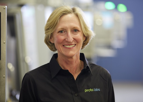 Vicki Holt is CEO of Protolabs. (Provided by Protolabs)