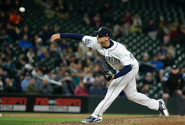 Chase De Jong, who pitched in seven games last season for Seattle, is a September call-up for the Twins this season. He's also an avid golfer, engaged