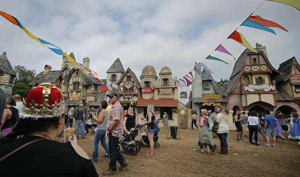 The Minnesota Renaissance Festival, shown in 2018.