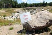 A gravel pit near several mining sites near the Kawishiwi River near Ely, Minn., in 2011.