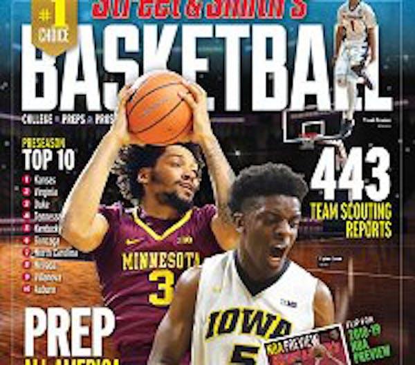 Gophers' Jordan Murphy makes college hoops magazine cover
