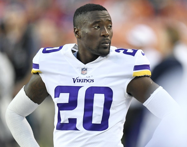 Mackensie Alexander is battling an ankle injury but is expected to start as the Vikings' slot cornerback if healthy.