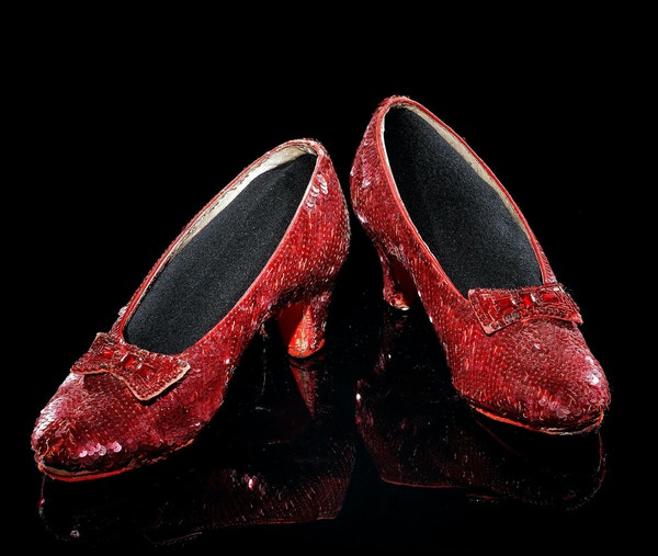 """The slippers stolen in 2005 were one of only four known surviving pairs from """"The Wizard of Oz,"""" the movie that launched Judy Garland's meteoric fam"""