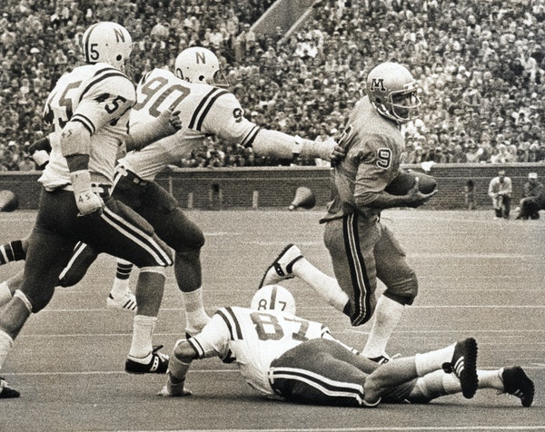 """Tony Dungy was an elusive quarterback for the Gophers from 1974 to 1976. """"My game was similar to Fran Tarkenton's,"""" he said recently."""