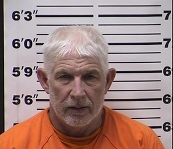 The booking mug for Kevin Rust from the Barron County Sheriff's Department.