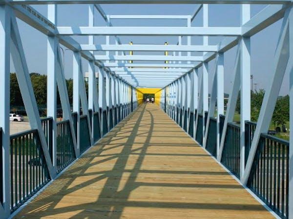 The Irene Hixon Whitney Bridge in Minneapolis.