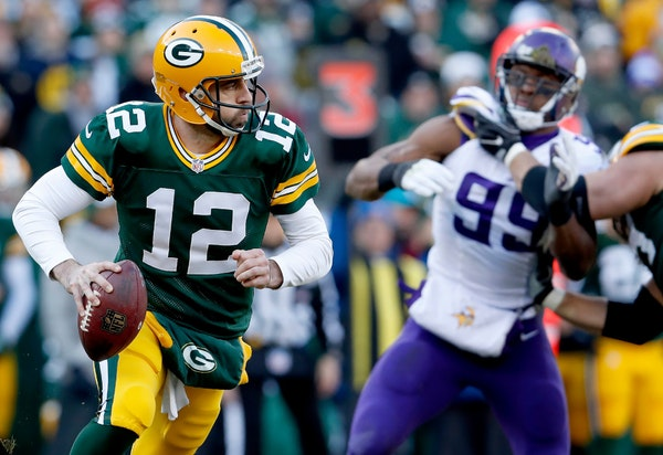 Vikings-Packers inactives: Aaron Rodgers will play vs. healthy Vikings