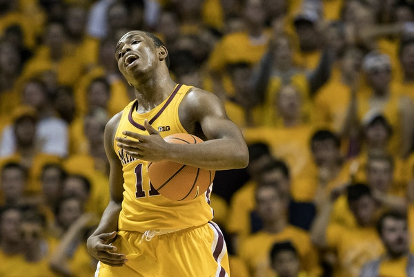 Sophomore Isaiah Washington is slated to be the Gophers starting point guard.