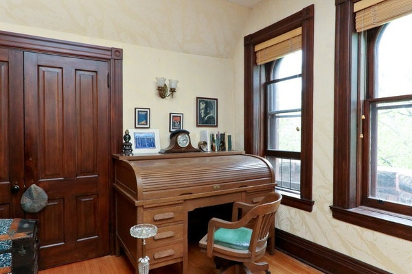 Fitzgerald wrote in this third-floor office.