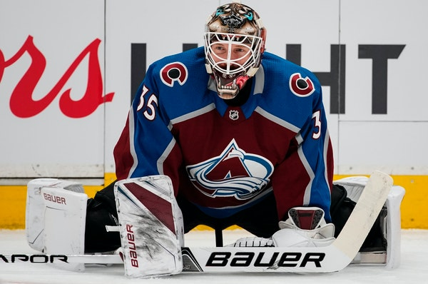 Goalie Andrew Hammond played more games in the playoffs (three) than he did in the regular season (one) for the 2017-18 Avalanche.