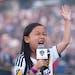 Malea Emma Tjandrawidjaja performed a show-stopping national anthem before an LA Galaxy game.