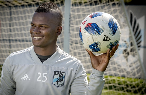 Minnesota United's Darwin Quintero has emerged as a team leader on offense and with his teammates.