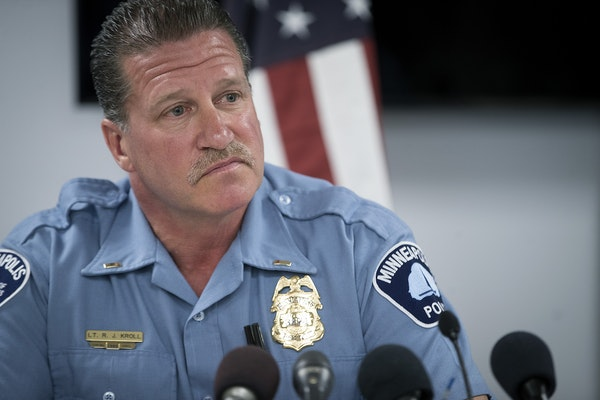 Minneapolis Police Union President Lt. Bob Kroll said that he consulted with the police union's attorneys, who said Minneapolis Mayor Jacob Frey's