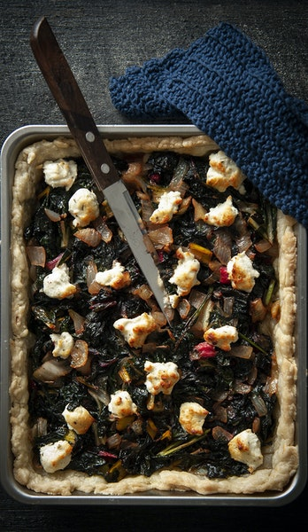 Rustic chard tart. Photo by Mette Nielsen * Special to the Star Tribune