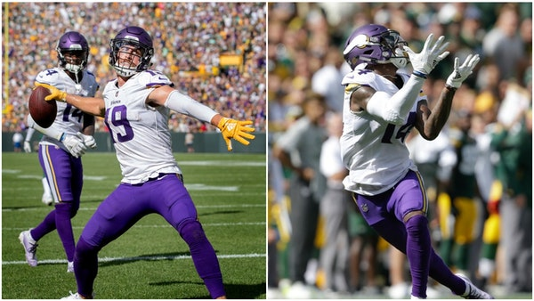 Thielen and Diggs state case vs. Packers as NFL's best receiving duo