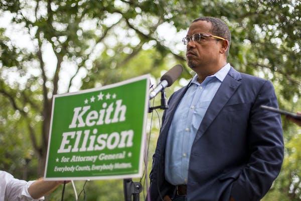 Rep. Keith Ellison, the Democratic candidate for attorney general. ALEX KORMANN • alex.kormann@startribune.com