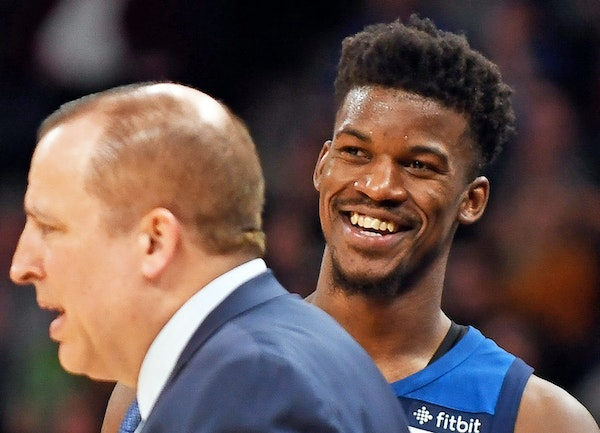 Wolves basketball boss Tom Thibodeau paid a high premium for one season of All-Star guard Jimmy Butler. He bet on himself and his relationship with Bu