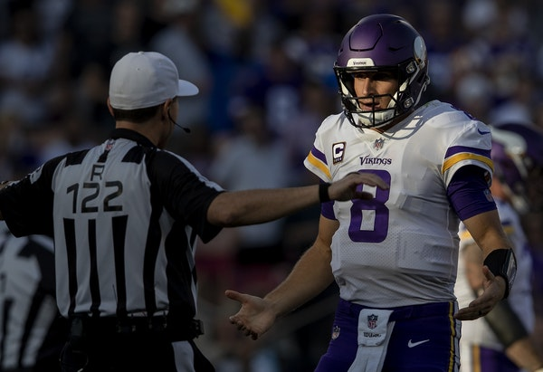 Vikings can't expect Cousins to thrive without help from teammates
