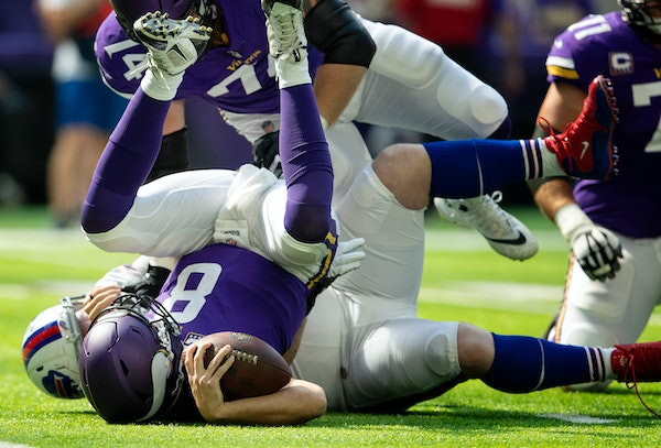 WATCH: Cousins on the Vikings' loss to the Bills