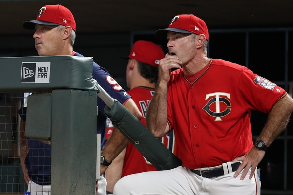Paul Molitor was fired Tuesday as manager of the Twins.