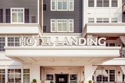 The exterior of the Hotel Landing in Wayzata.
