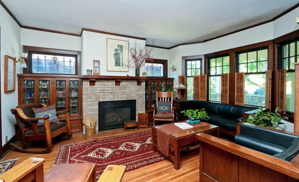 This 1912 Craftsman-style home is one of the 12 that will be open for touring on Sept. 30.