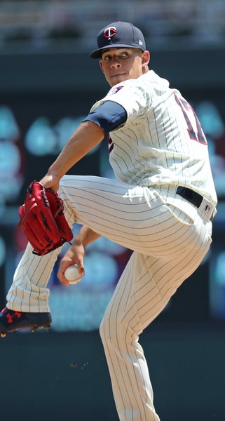 The Twins' Jose Berrios is 2-4 with a 4.13 ERA since the All-Star break.