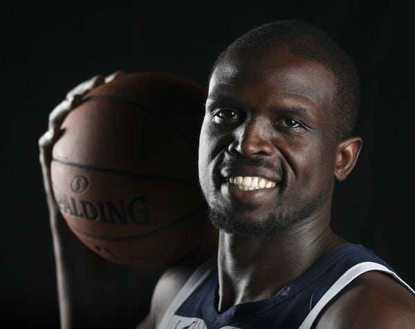 Timberwolves' Luol Deng.