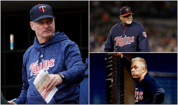 White, inexperienced, internal: Will new Twins manager break pattern?