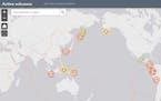INTERACTIVE: Active volcano tracker
