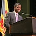 """""""Safe, secure, affordable housing is vital to building a city that works for all of us,"""" said St. Paul Mayor Melvin Carter, shown in May."""