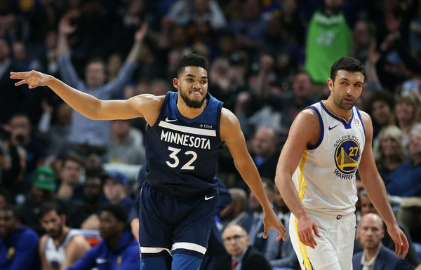 Karl-Anthony Towns is in the final year of his rookie deal: four years, $25.72 million. He will be a restricted free agent after this season.