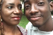 Family photo: LaDonna Redmond and her son, Wade, who died this week.