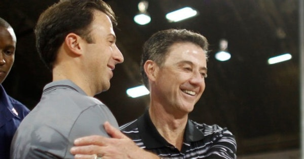 Rick Pitino says point guard 'only weak spot' on his son's Gophers team